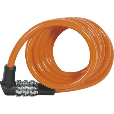 ABUS Kabelslot spiraal Kids 1150/120 cijfercode Oranje