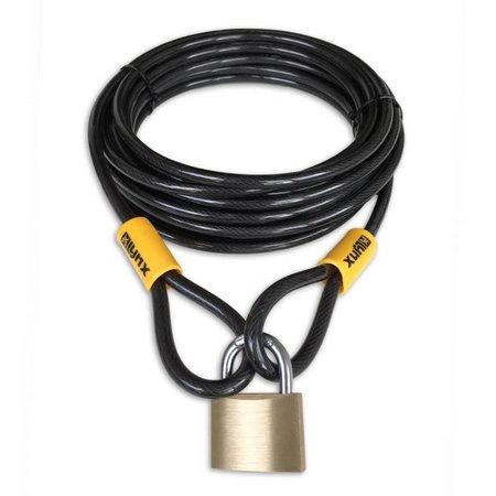 Lynx Kabelslot met 10 meter kabel en een hangslot