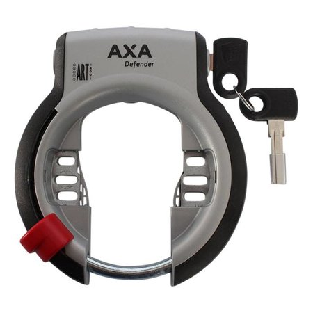AXA Ringslot AXA Defender fietsslot met ART-2 keurmerk (zw/z)