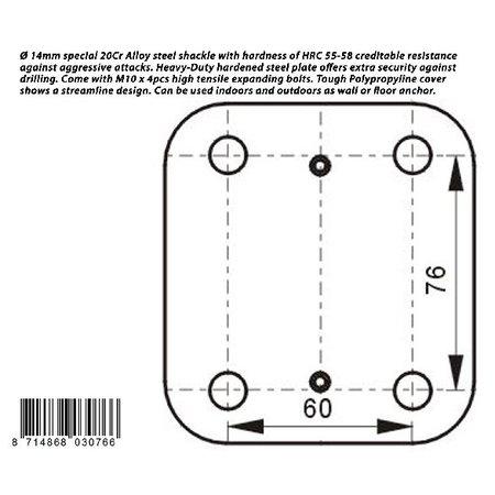 Pro-tect Muuranker of vloeranker van Pro-tect voorzien van het ART-4 keurmerk