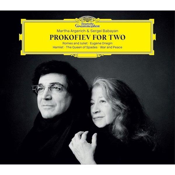 Martha Argerich - Prokofiev For Two - Audo-CD