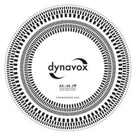 DYNAVOX Tonabnehmer-Einstelllehre / Stroboskop-Scheibe