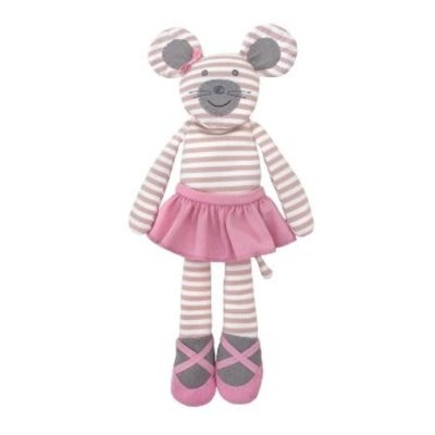 Applepark Organic Farm Buddies Ballerina Mouse Plush Toy