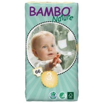Bambo Nature Babyluier midi 3, 5-9 kg (33 stuks)