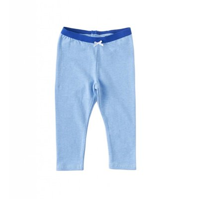 Little Label Legging - oceaanblauw gemêleerd