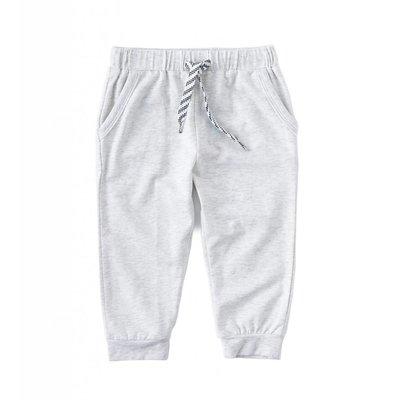 Little Label Jersey broek – off white gemêleerd