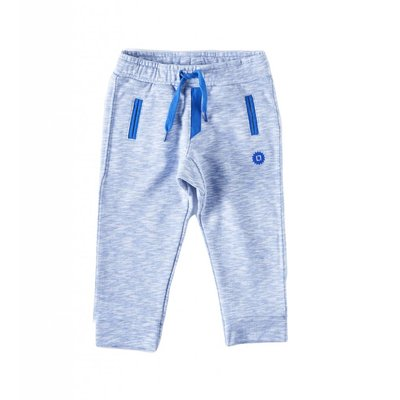 Little Label Basic sweatbroek boys & girls – lichtblauw gemêleerd