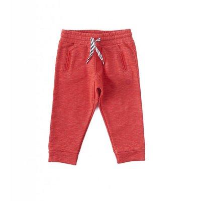 Little Label Basic sweatbroek boys & girls – almost red