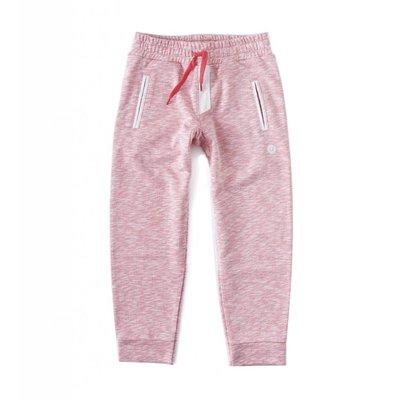 Little Label Basic sweatbroek – roze gemêleerd
