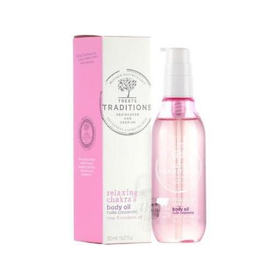 Treets Traditions Relaxing Chakra's Body Oil