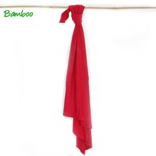 SmallVips Vip Swaddle Bamboe Tricot Blanket Rood 90-90