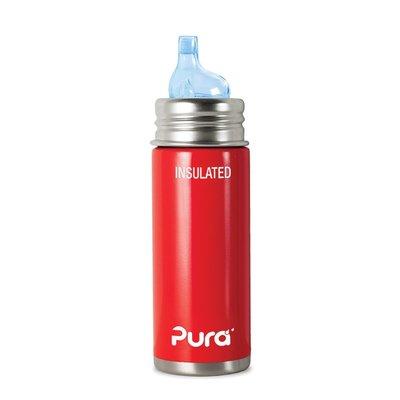 Pura Thermos Tuitfles rood - 260 ml