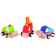 Bigjigs Toys Opwindbare Voertuigen