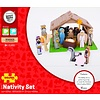 Bigjigs Toys Houten Kerststal / Nativity set