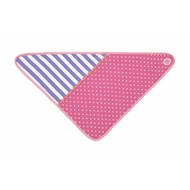 Applepark Bandana Bibs Pink Polka dots