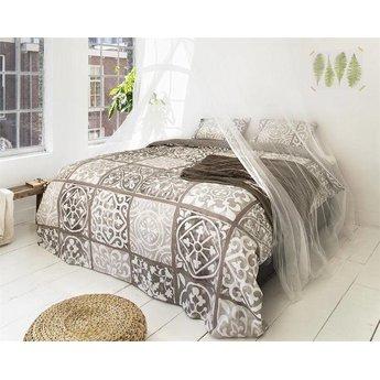 Dreamhouse bedding Alhambra Taupe dekbedovertrek