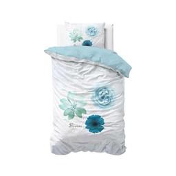 Sleeptime Summer Flower Blue dekbedovertrek