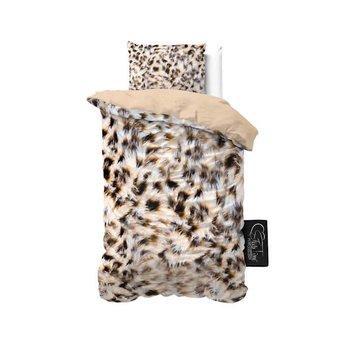Sleeptime Cheetah Skin Taupe dekbedovertrek