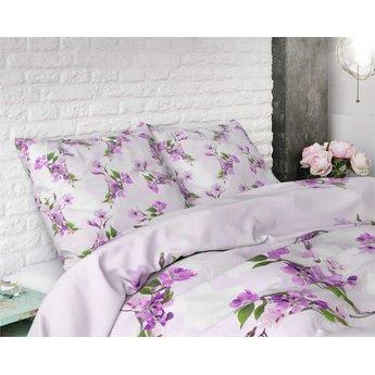 Sleeptime Flower Blush Purple dekbedovertrek