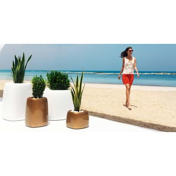 Vondom Organic Square  HIGH 31 x 34 x 47 plantenbak