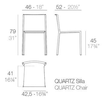 Vondom Quartz stoel