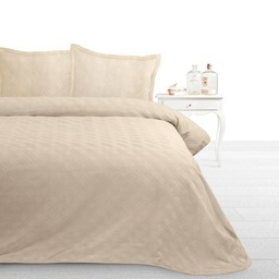 Fancy Embroidery bedsprei Miriam C Cream