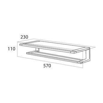 Tiger ITEMS handdoekrek / plank