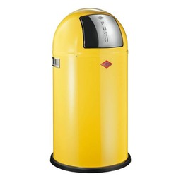 Wesco Pushboy 50L LEMON afvalemmer