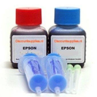 Epson navulset T0485 en T0486 foto (min. 6 vullen)