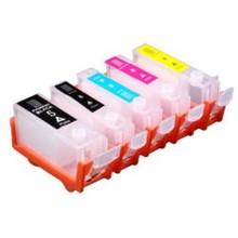 Canon PGI-5/CLI-8 hervulbare cartridges met chip