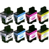 Brother LC-900 INKTCARTRIDGES MULTIPAK 8STKS (HUISMERK)