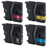 Brother LC-985 INKTCARTRIDGES MULTIPAK 4STKS (HUISMERK)