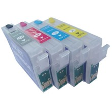 Epson T1281-T1284 hervulbare cartridges met Auto-Reset chip