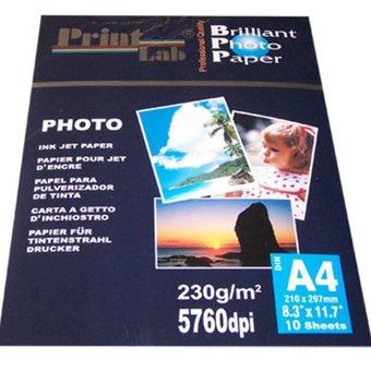Printlab glossy foto papier 10 x 15cm 230g 10vel