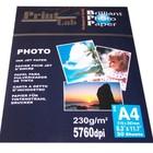 Printlab glossy foto papier 10 x 15cm 230g 20vel