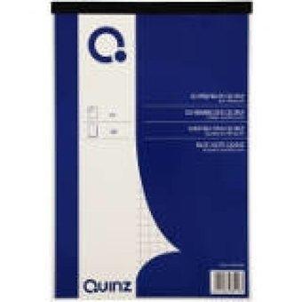 Quinz schrijfblok A6 ruit 60g 100vel