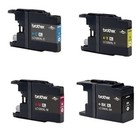 Brother LC-1280XL INKTCARTRIDGES MULTIPACK 4STKS (HUISMERK)