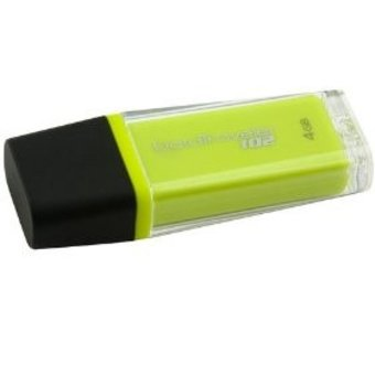 Kingston DataTraveler 4GB USB 2.0 geel