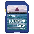 Kingston SD kaart 2GB