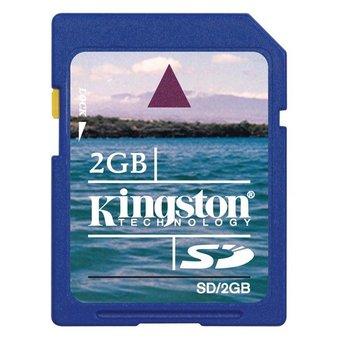 Kingston SD kaart 2GB
