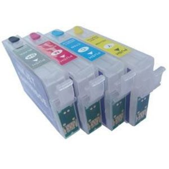 Epson T1801/1811 - T1804/1814 hervulbare cartridges met Auto-Reset chip