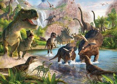 Dinosaurussen Kinderbehang