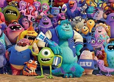 Monsters University Kinderbehang