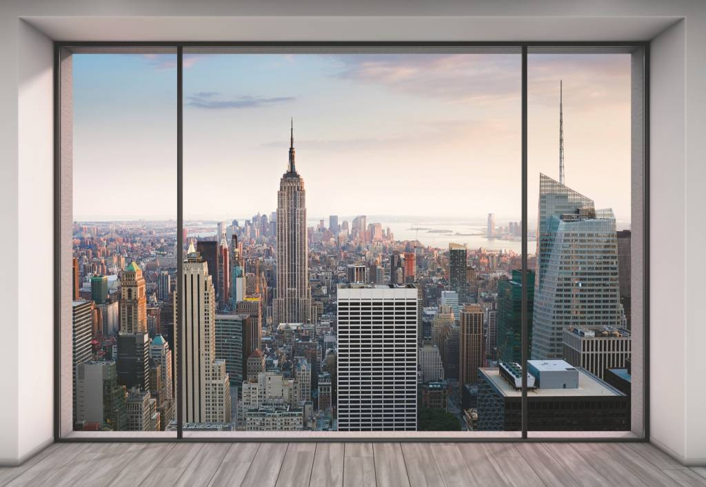 Foto Behang New York.Fotobehang Komar Steden Behang Penthouse Xxl Rap Besteld Rap