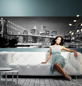 Scenics Edition 2 Fotobehang Komar Steden behang Brooklyn Bridge