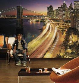 Scenics Edition 2 Fotobehang Komar Steden behang NYC Lights