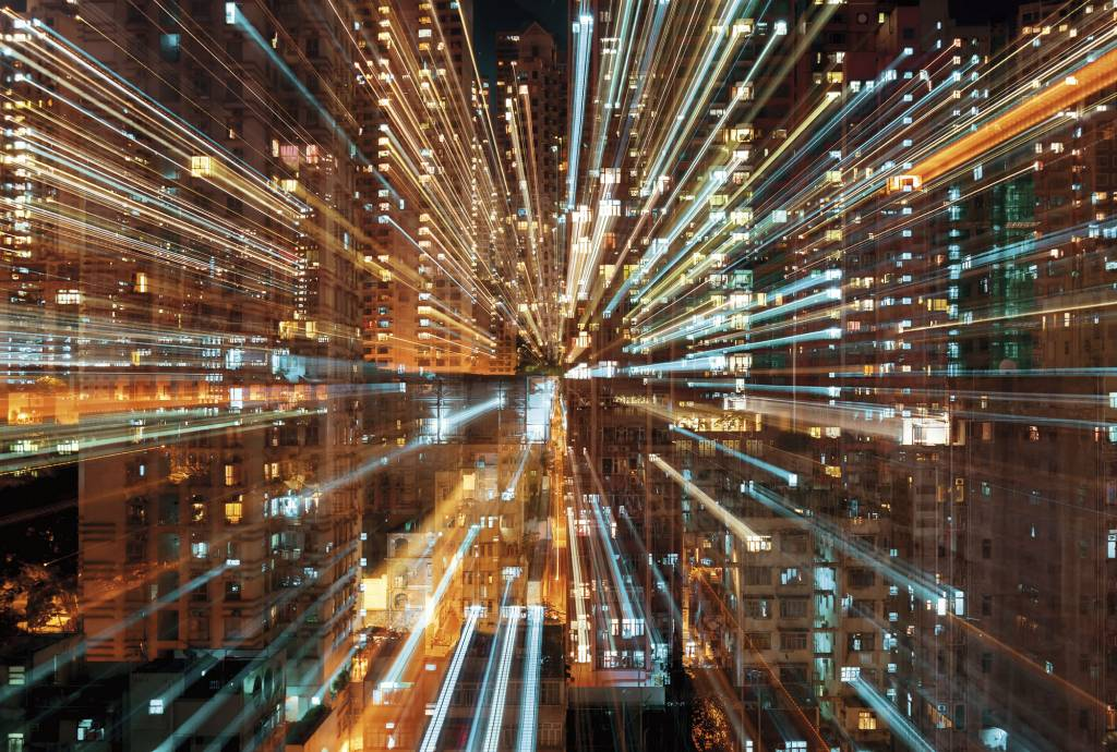Scenics Edition 2 Fotobehang Komar Steden behang Fusion