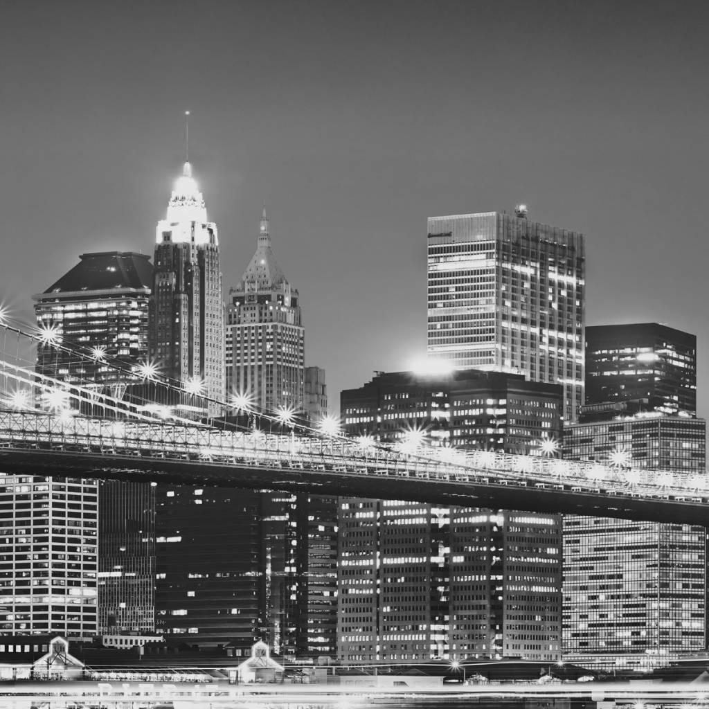 Scenics Edition 2 Fotobehang Komar Steden behang New York Brooklyn Bridge