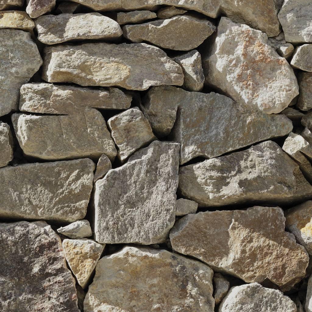 Flower & Textures Edition 1 Fotobehang Komar Stijlen Behang Stone Wall