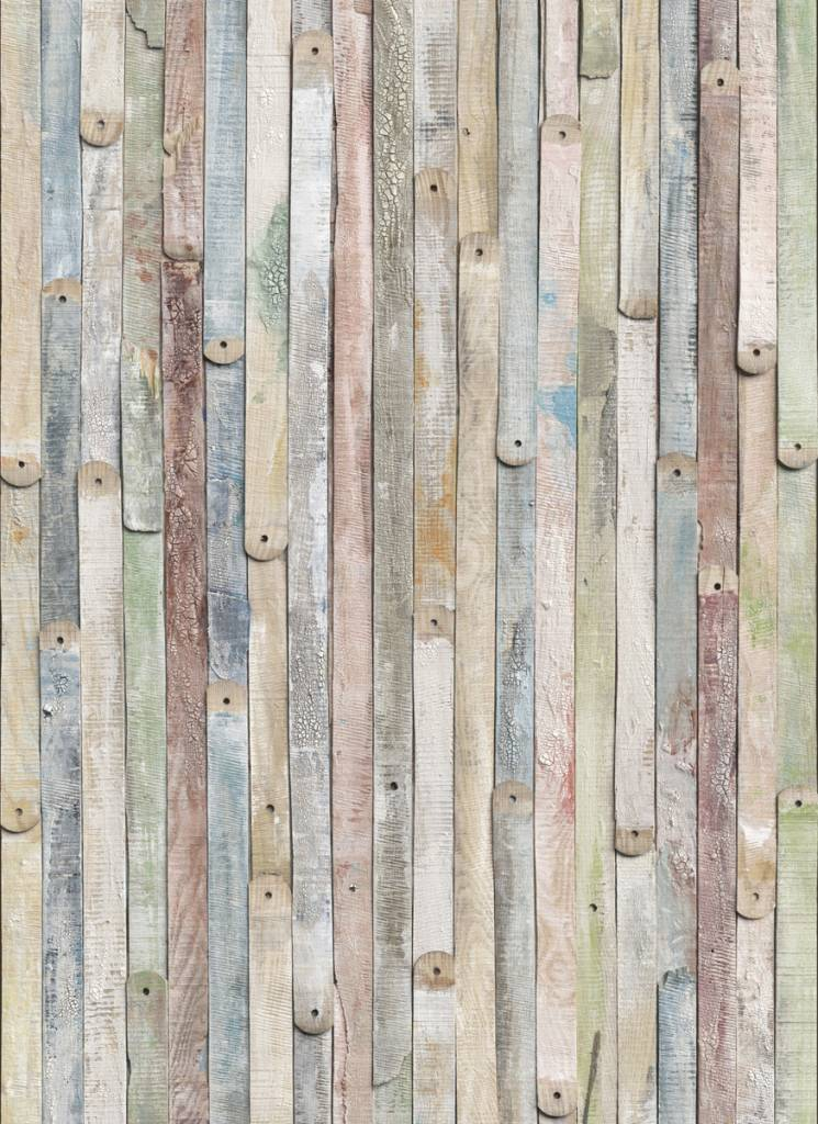 Flower & Textures Edition 1 Fotobehang Komar Stijlen Behang Vintage Wood